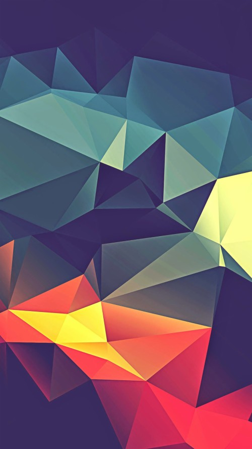 Cool Colorful Iphone Wallpapers Geometric Phone 10590