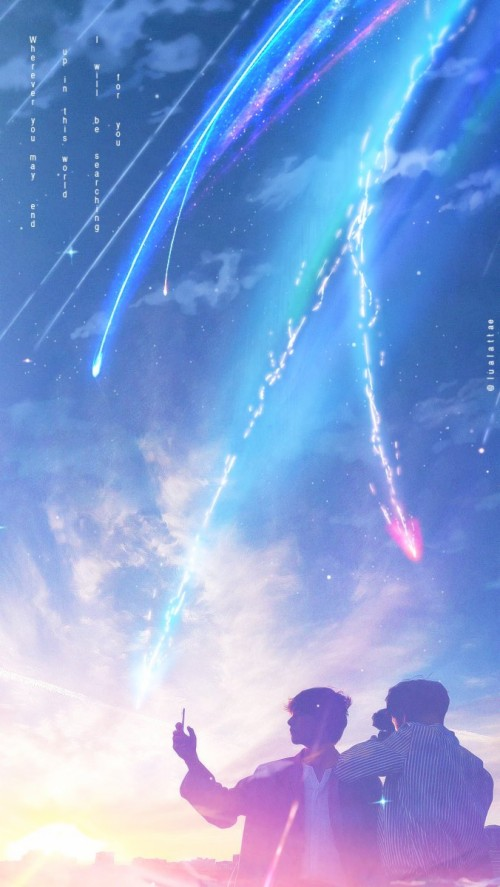 Lua With Luv Kimi No Nawa Lockscreen 16097 Hd Wallpaper Backgrounds Download