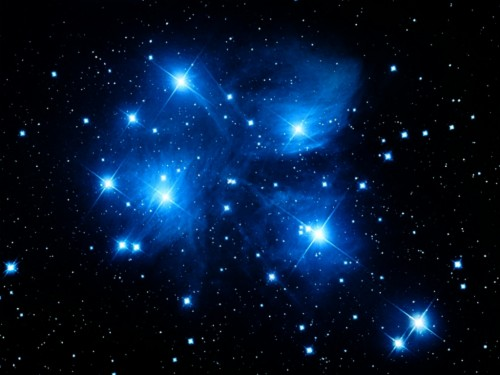 Stars Colorful Galaxy Space Universe Planet Blue Blue Star