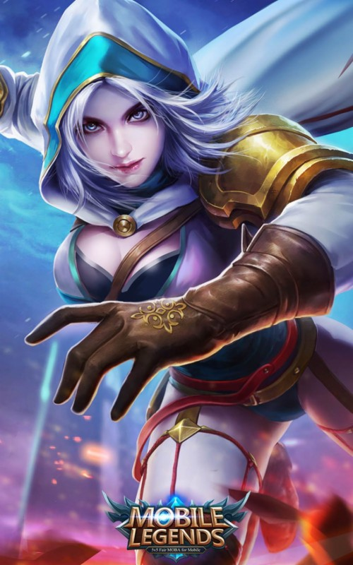 Mobile Legends Wallpaper Full Hd Mobile Legends Heroes Layla 87008 Hd Wallpaper Backgrounds Download