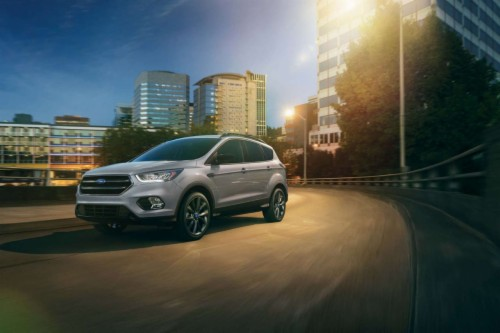 2018 Ford Escape Colors >> 2018 Ford Escape In Night Lights Background City Hd Colors