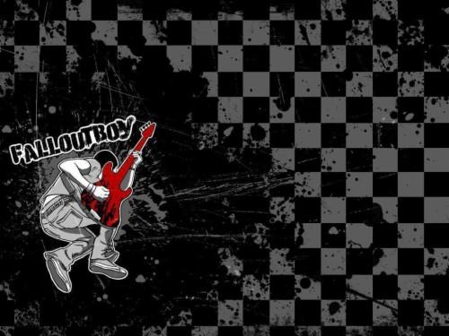 38+ Wallpaper Fall Out Boy Logo Background