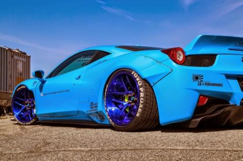 Hd Wallpaper Ferrari 458 Italia Tuning 1051622 Hd