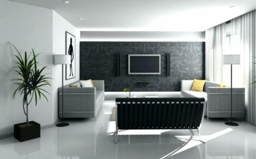 Wallpaper Design For Living Room Home Decoration Ideas