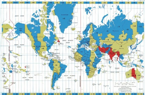 Latest World Time Clock And Map Copy Timezone Map World ...