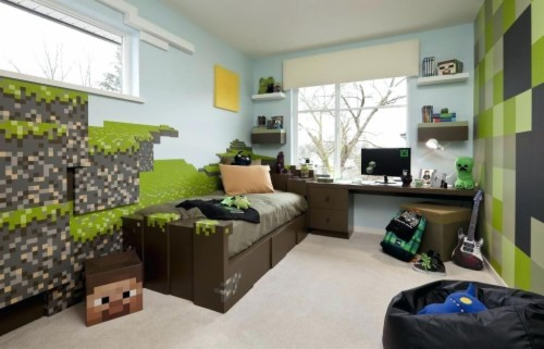 Minecraft Rooms To Have In Your House Cool Things Put Real Life Minecraft Bedrooms 1092427 Hd Wallpaper Backgrounds Download