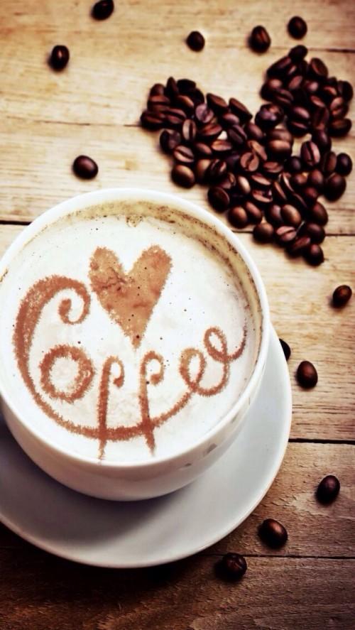 Coffee Dessert Cute Coffee Wallpaper Iphone 2058613