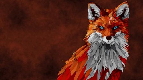 Sketchartpolyfox Wallpaper Fox Wallpaper 4k 114809
