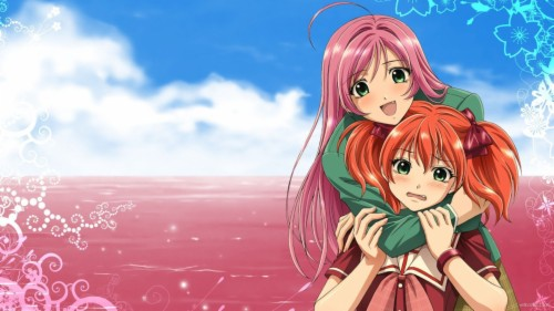 Anime Kiss Of Love Wallpapers Kokoa Rosario Vampire