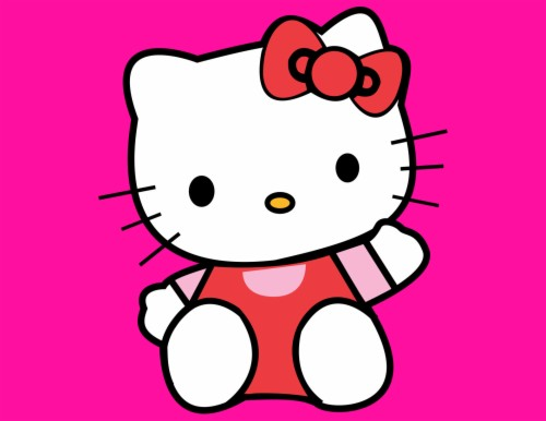 Wallpaper Hello Kitty Pink Bergerak - Hello Kitty Pink Love