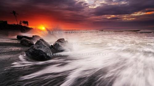 Bali Kuta Beach Wallpapers Sunset Beach Bali Hd 1121411