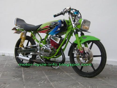 Yamaha Rx King Air Brush Motor Rx King Stang Jepit