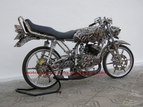 Rx Yamaha Foto King Drag Modifikasi Modifikasi Rx King