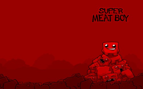 Super Meat Boy Zombie Deaths Wallpaper By Andyofcomixinc