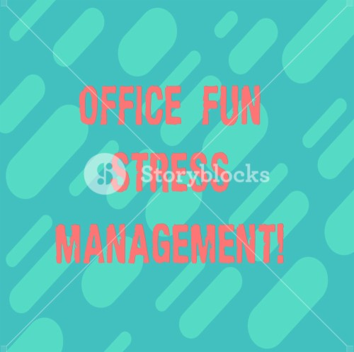 Word Writing Text Office Fun Stress Management Parallel