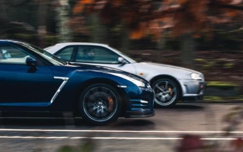 Nissan Gtr R35 Black 1804054 Hd Wallpaper Backgrounds Download
