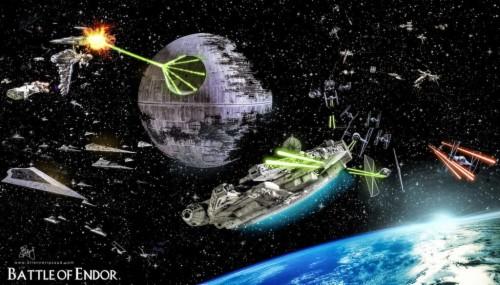 116 1168154 battle of endor space