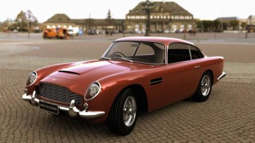 Artstation Aston Martin Db5 1963 Vladimir Kravchenko Aston