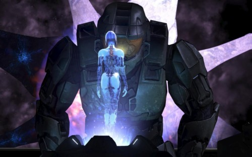 Halo 4 Master Chief And Cortana Wallpaper Pc Game