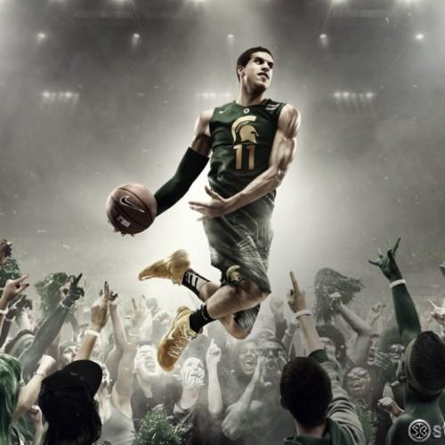 Michigan State Basketball Wallpaper Hd Michigan State