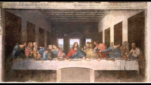 119 1190583 the last supper original painting by leonardo da