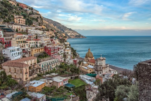Positano Amalfi Coast 1192272 Hd Wallpaper