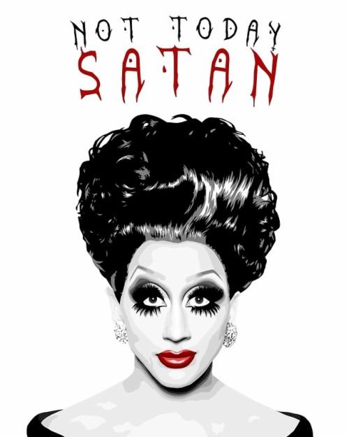Drag Queen Rupauls Drag Bianca Del Rio Not Today Satan