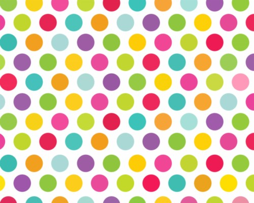 Polka Dot Desktop Wallpaper Polka Point Wrapping Cute
