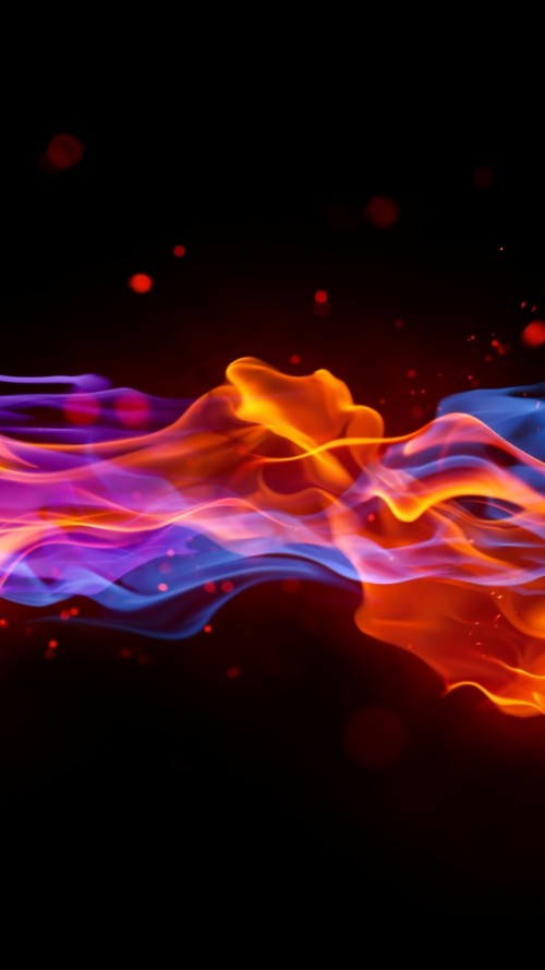 Fire 4k 5k Wallpaper Blue Red Violet Background Iphone Xr Wallpaper Abstract 126633 Hd Wallpaper Backgrounds Download
