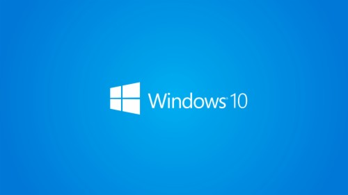 Windows 10 Wallpaper 1080p Full Hd White Logo Blue Mobile
