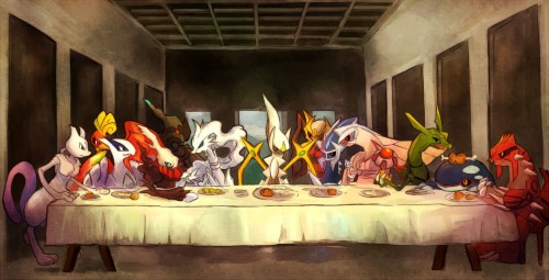 120 1202174 the last supper last supper pokemon