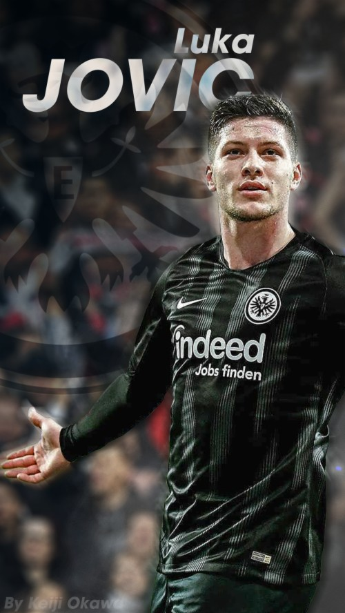 Eintracht Frankfurt Luka Jovic 1203539 Hd Wallpaper Backgrounds Download