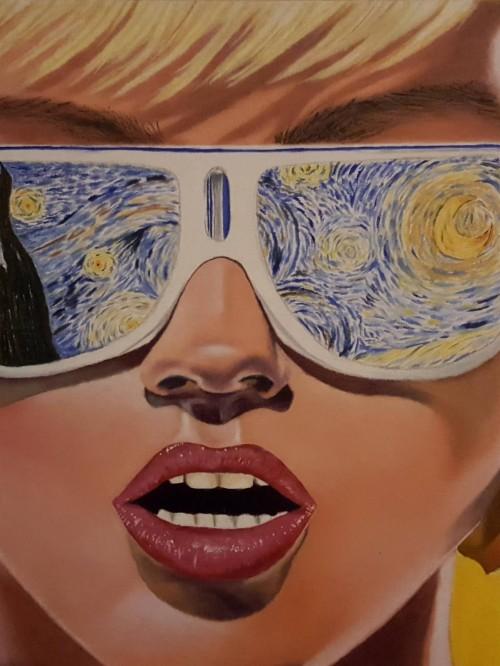 Vincent Van Gogh Starry Night Hd 1214793 Hd Wallpaper