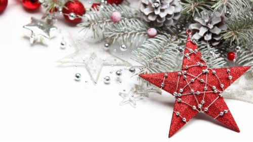 Red Christmas Star In Festive Decor Wallpapers And Christmas Dps For Whatsapp 1239035 Hd Wallpaper Backgrounds Download