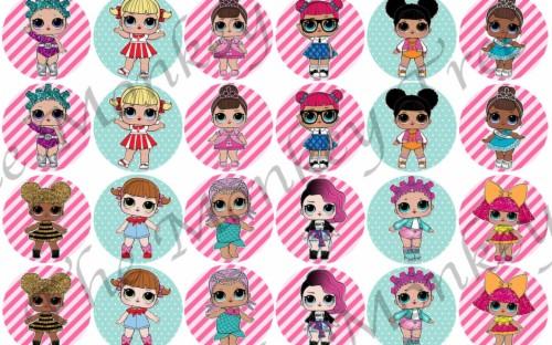 Lol Surprise Cartoon Images Lol Surprise Doll Calendar 1257998