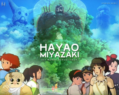 Anime Wallpaper Hayao Miyazaki And Studio Ghibli 1285506