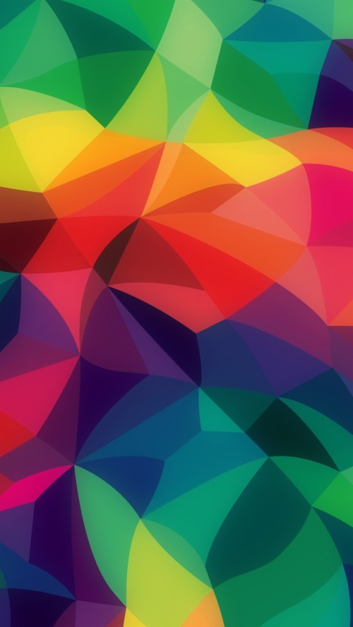 Dark Colorful Abstract Wallpaper Wallpaper 492124 Hd