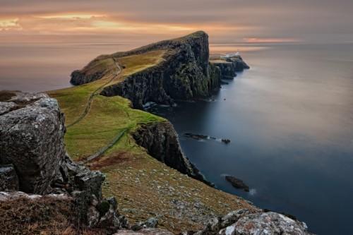 Scottish Highlands Landscape Scotland Skye Wallpaper