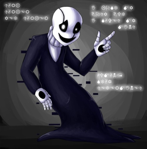 Undertale W D Gaster Wd Gaster Wallpaper Hd 1054465