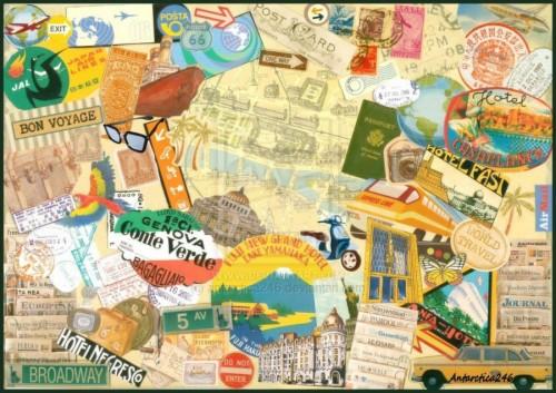 Travel Photo Collage Travel Wallpaper Collage Desktop Desktop