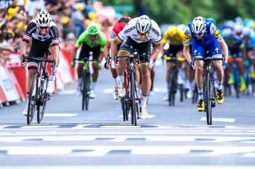 Peter Sagan Celebrates His First Win As World Champion