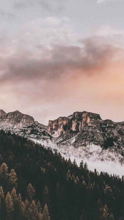 montagne mountain Grunge Aesthetic Tumblr Background
