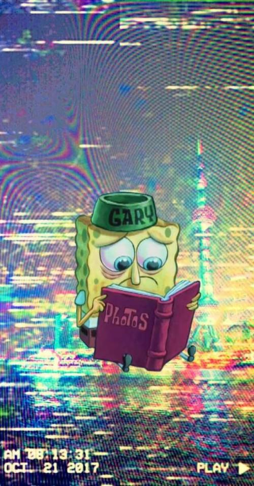Spongebob Aesthetic Phone Wallpapers Estilo Bob Esponja Gif
