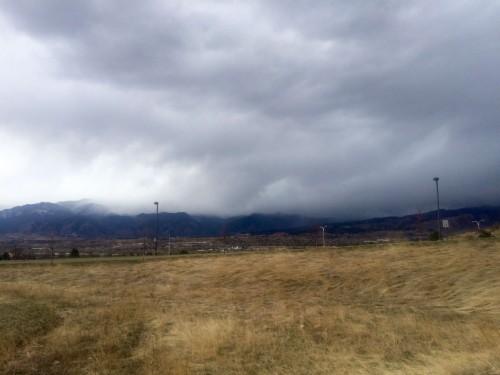 Nuvole Montagne Natura Tempo Libero Tempesta Meteo