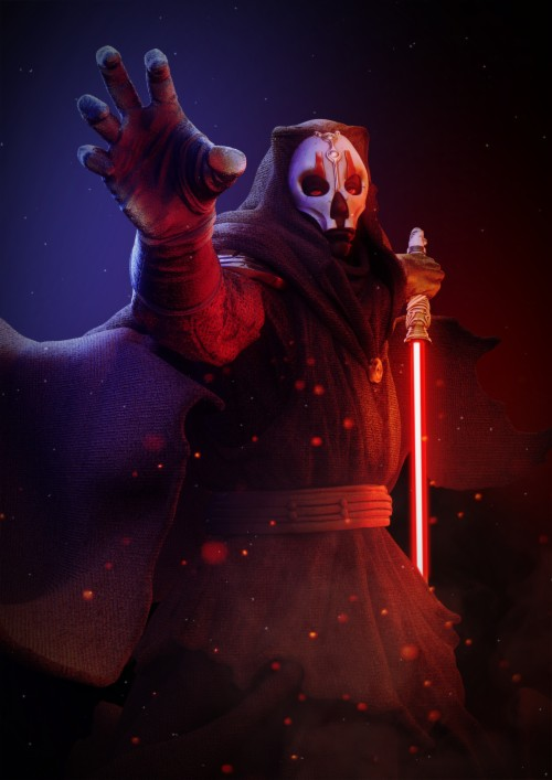 Fan Creationsdarth Nihilus By Mauro Misiewicz Star Wars Darth Nihilus 1413827 Hd Wallpaper Backgrounds Download