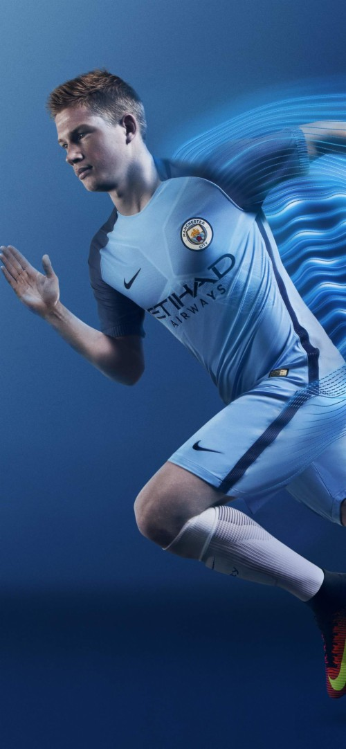 Manchester City Football Player Manchester City Home Kit