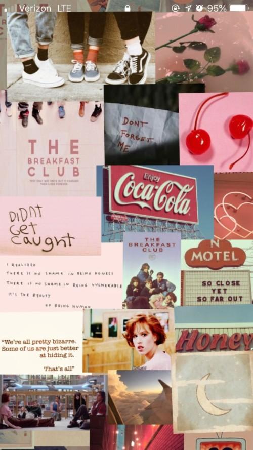 The Breakfast Club Collage Haha Breakfast Club Wallpaper Iphone