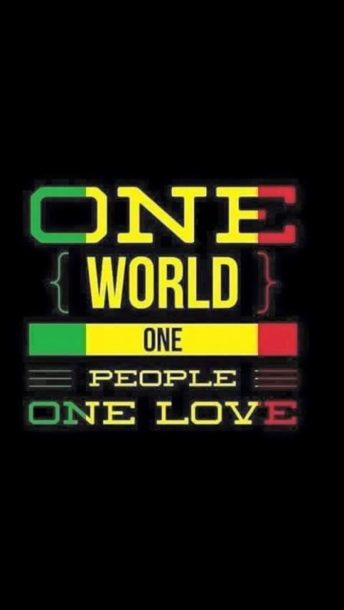 One World One Love One Love One World Bob Marley 1476365