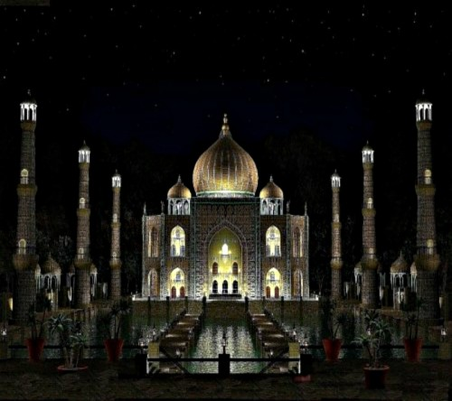 Animated Wallpapers For Mobile Samsung Champ Night India Taj Mahal 1495862 Hd Wallpaper Backgrounds Download