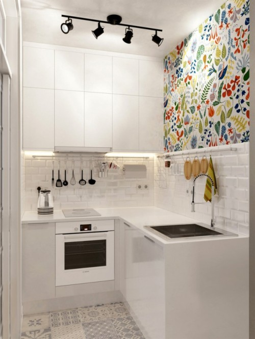 Small Studio Apartment Kitchen Design (#153513) - HD ...